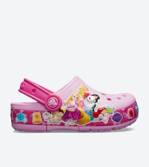 Fun Lab Princess Band Light Clogs - Pink 205496-6I2