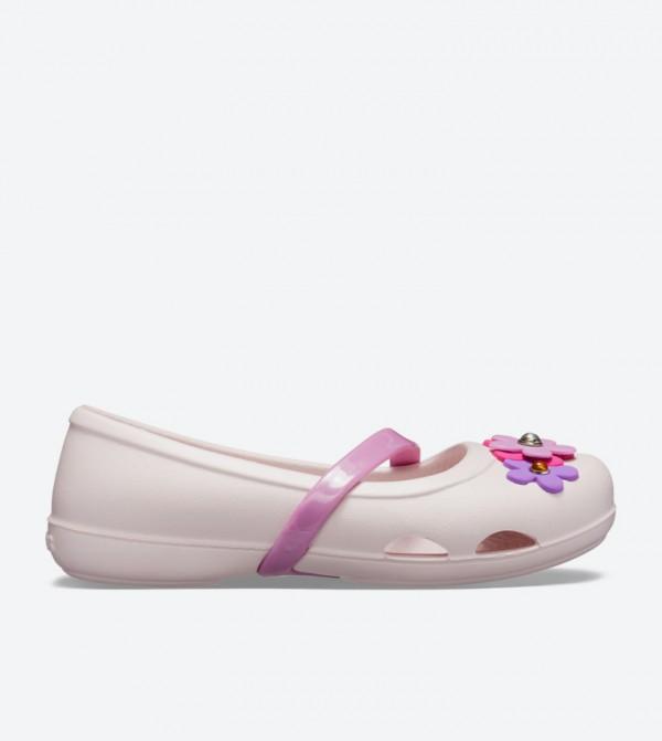 Lina Flower Charm Ballerinas - Pink 205529-6PI