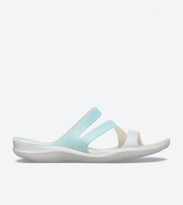 Swiftwater Seasonal Strappy Sandals - White 205637-4IS