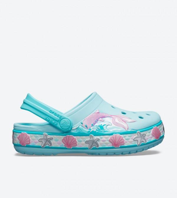 Fun Lab Mermaid Band Clogs - Blue 205646-4O9