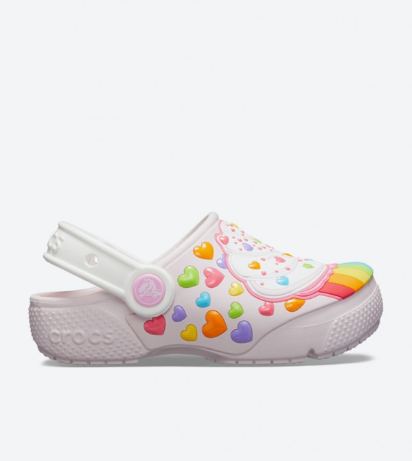 Fun Lab Cupcake Round Toe Clogs - Light Pink 205647-6PI