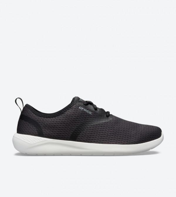 Literide Mesh Lace-Up Closure Sneakers - Black 205678-066