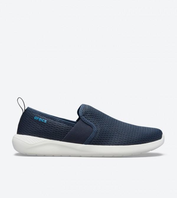 Literide Mesh Round Toe Slip-Ons - Navy 205679-462