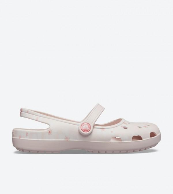 Shayna Graphic Mary Jane Ballerinas - Light Pink 205738-6PQ