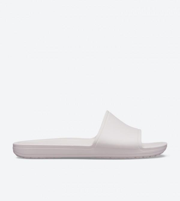 Sloane Broad Strap Round Toe Slides - Light Pink 205742-6PI