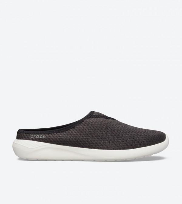 Literide Mesh Round Toe Mules - Black 205754-066