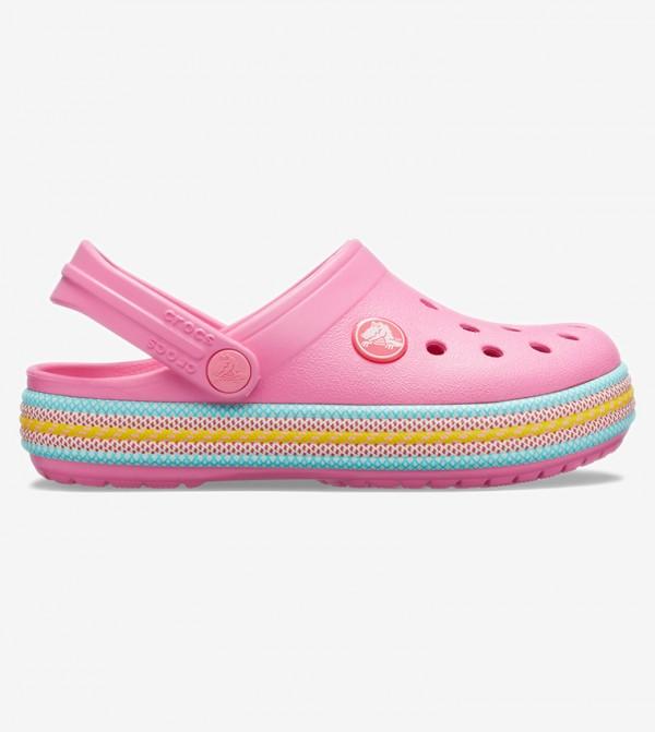 Crocband Sport Cord Clog K - Pink 205899-669