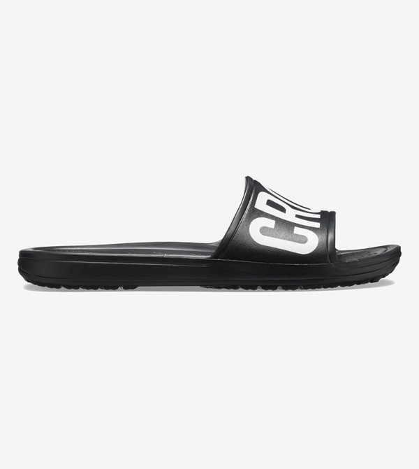 CrocsSloane Logo Mania Slide - Black 205945-001