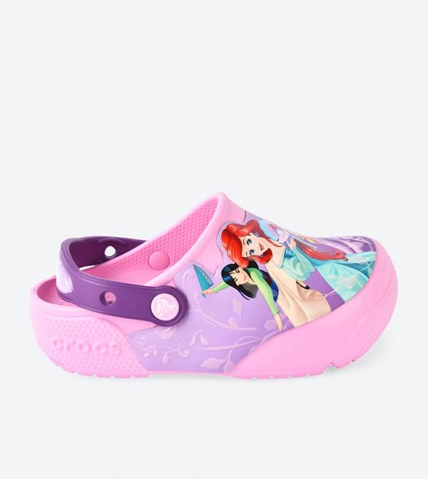 Kids' Crocs Fun Lab Lights Princess Clog