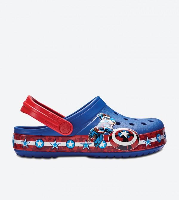 Kids' Crocband™ Fun Lab Captain America Clog