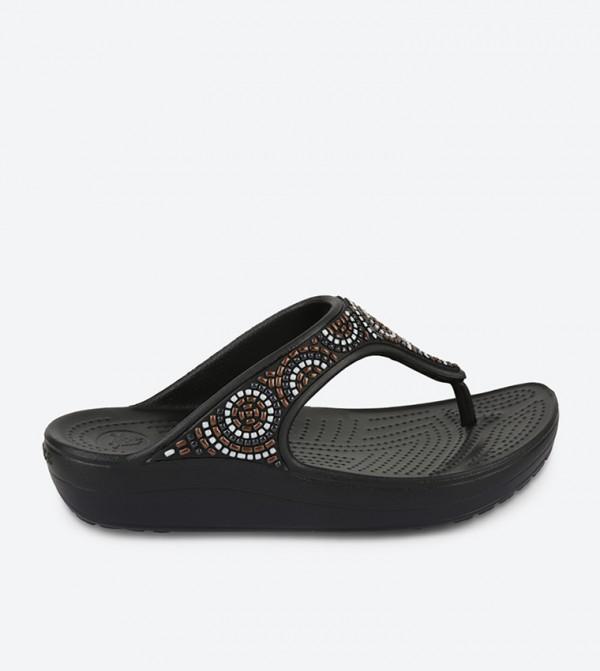 Women's Crocs Sloane Beaded Flip