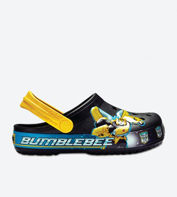 Kids' Crocband™ Fun Lab Bumblebee™ Clog