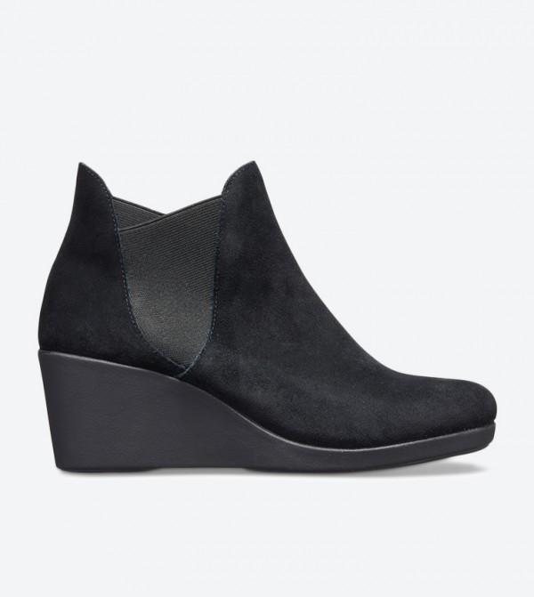 Women's Crocs Leigh Wedge Chelsea Boot
