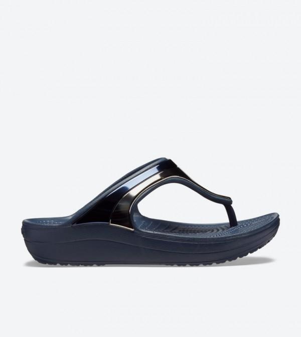 Women's Crocs Sloane MetalBlock Flip