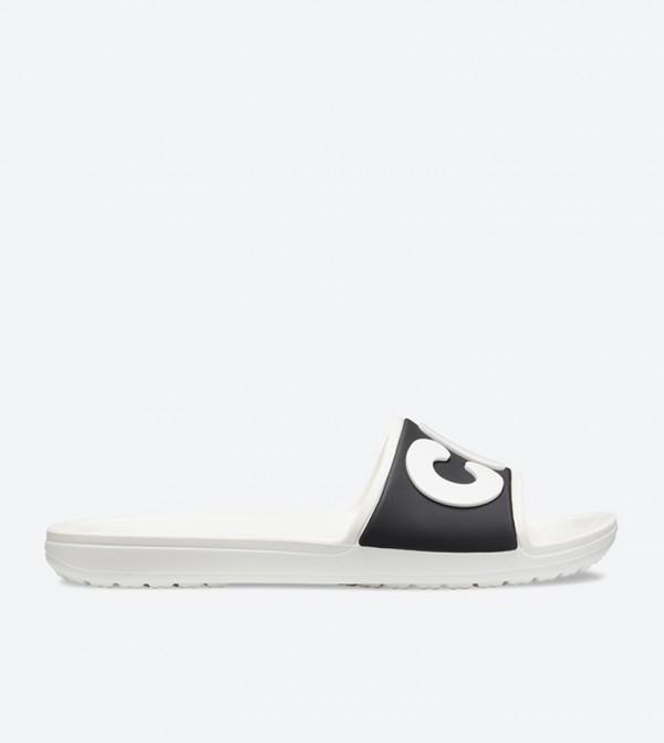 Women's Crocs Sloane Logo Slide