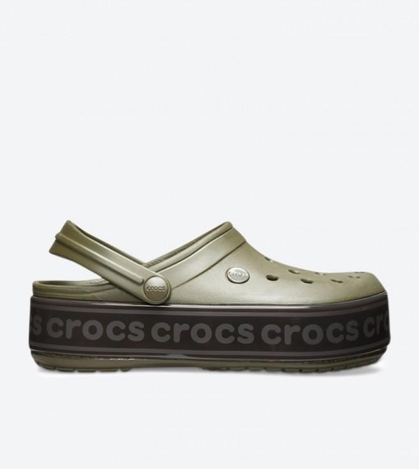 Crocband™ Platform Logo Clog